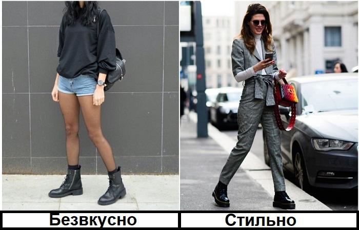 Джинсовые шорты не подходят для осени, в отличие от костюма