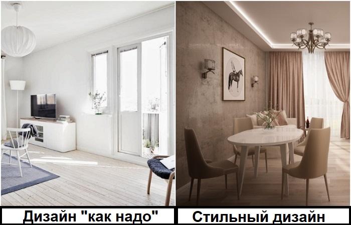 Стены и потолок можно покрасить не в белый, а в цвет капучино