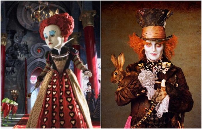 Трудоемкие образы Красной королевы и Шляпника