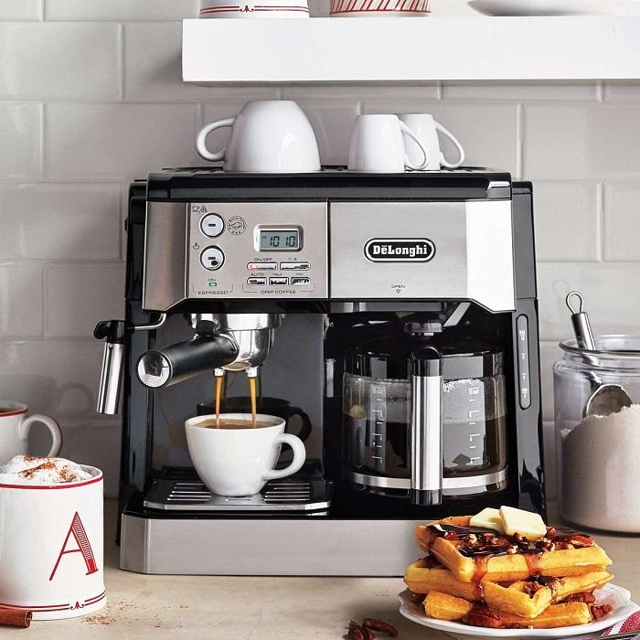 Кофемашина является отличным решением для любителей кофе. / Фото: pinterest.es
