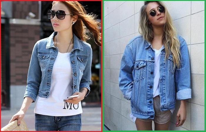 Вместо приталенных джинсовки лучше купить модель оверсайз
