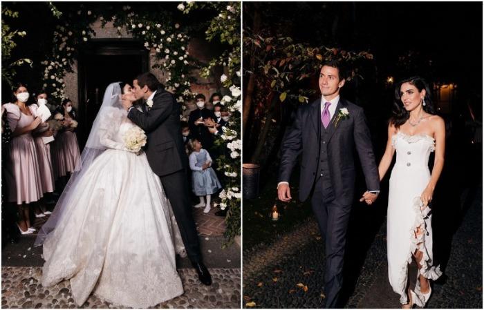 Влюбленные праздновали свадьбу в Милане