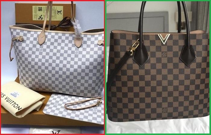 Подделка и оригинал сумки Louis Vuitton