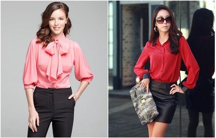 Вместо классических блуз стилисты рекомендуют рубашки