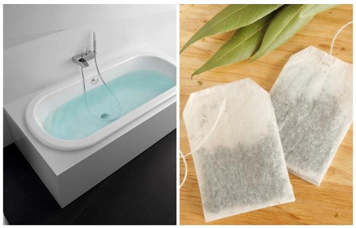 Добавьте в воду чайный пакетик с ромашкой и получите расслабляющую ванну