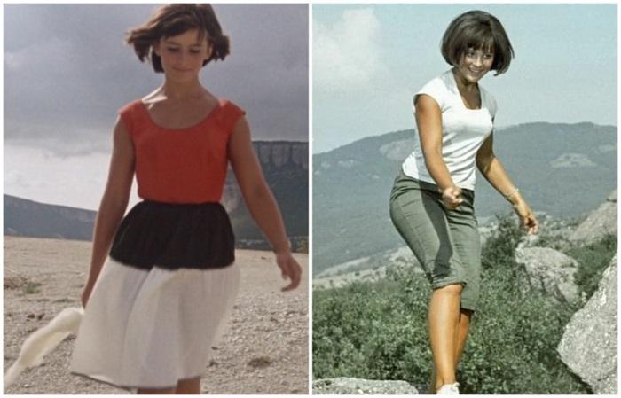 Два образа Нины: женственный и простой, хулиганский