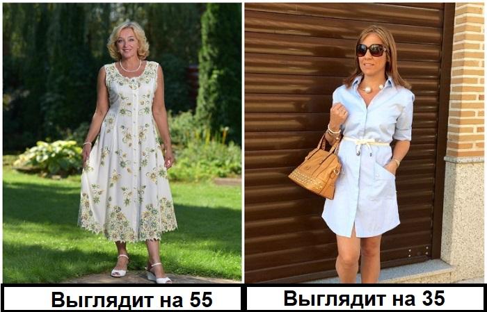 Вместо старомодного сарафана лучше выбрать платье-рубашку