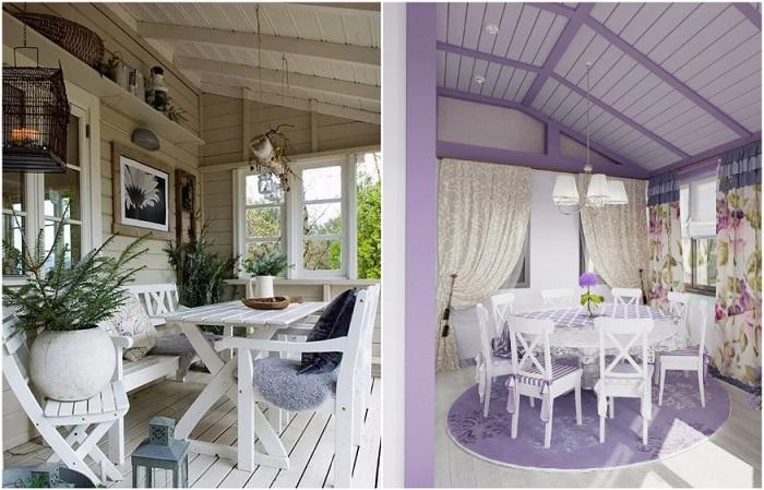 Для Прованса характерно наличие деревянной мебели