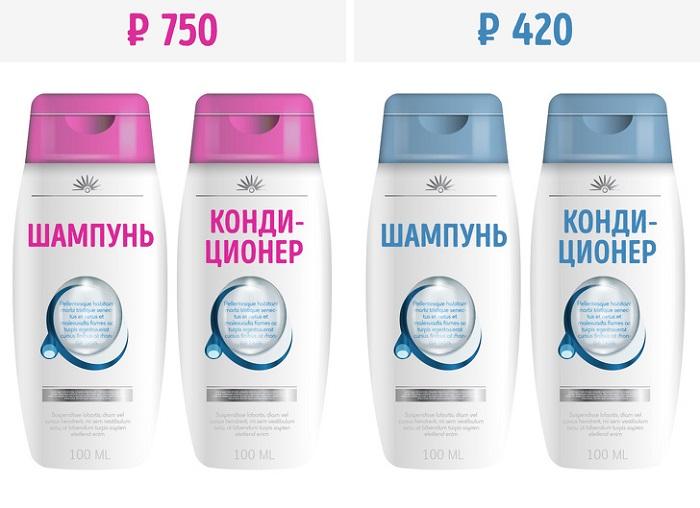 Женские товары стоят дороже мужских. / Фото: pinterest.ru