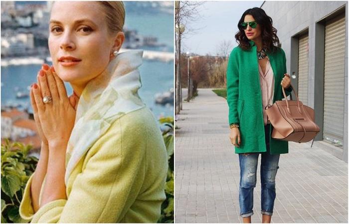 Яркое пальто - идеальное решение для пасмурной осени