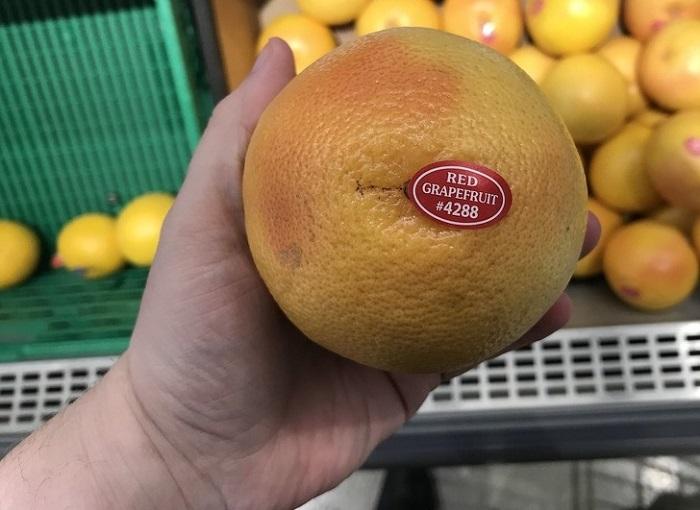 Сочные грейпфруты всегда тяжелые. / Фото: Remont.boltai.com