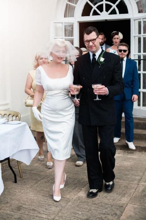 Мэрилин Монро с третьим супругом Артуром Миллером. / Фото: pinterest.ru