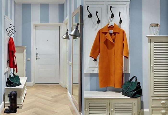 Выделите плечики для повседневной верхней одежды. / Фото: Trizio.ru