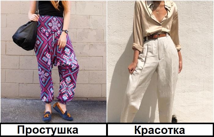 Шаровары стоит заменит на лаконичные льняные брюки