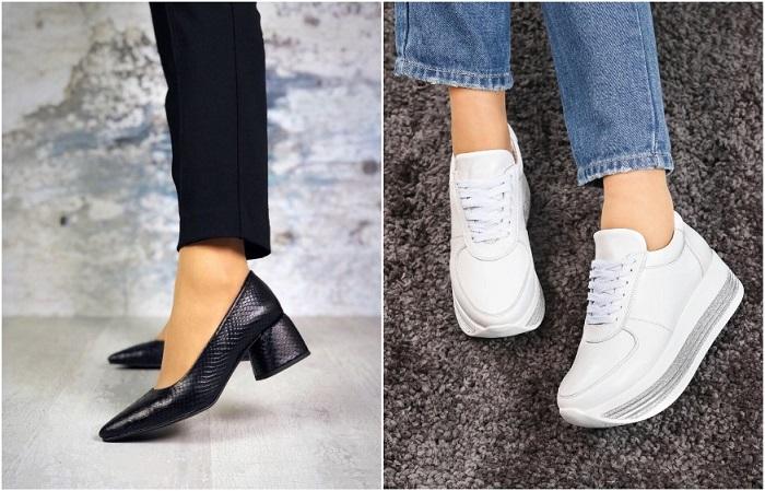 Кожаная обувь имеет долгий срок службы