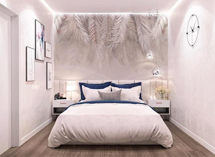 Белая комната визуально смотрится просторнее. / Фото: a-r-s.ru