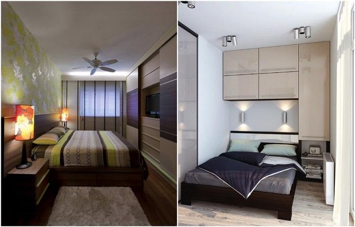 5 шагов в дизайне узкой спальни, которые помогут устранить недостатки планировки