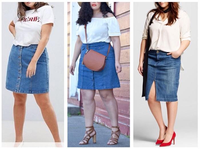Самый лучший вариант - джинсовые юбки американского производства. / Фото: 101oblik.ru