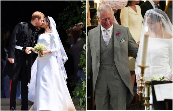 Меган Маркл выводил к алтарю не отец, а принц Чарльз