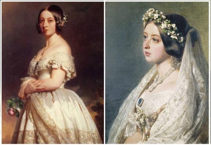 Белоснежное платье королевы Виктории