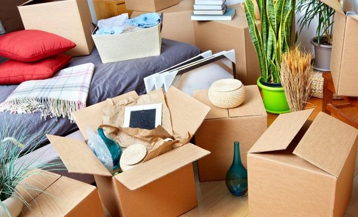 Подумайте, чтобы вы сложили в коробки и взяли бы с собой во время пожара. / Фото: dekoriko.ru