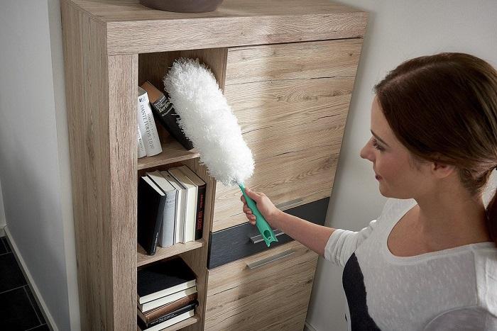 Метелка не устраняет пыль, а поднимает ее в воздух. / Фото: twimg.com