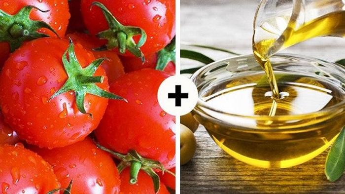 Если делаете салат из томатов, заправляйте его оливковым маслом. / Фото: goodfon.ru