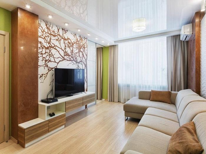 В комнате не должно быть ничего лишнего. / Фото: Dizainexpert.ru