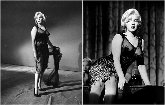 Мэрилин Монро в знаменитом «голом» платье от Орри-Келли