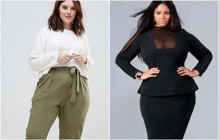 Баска и брюки галифе визуально увеличивают бедра
