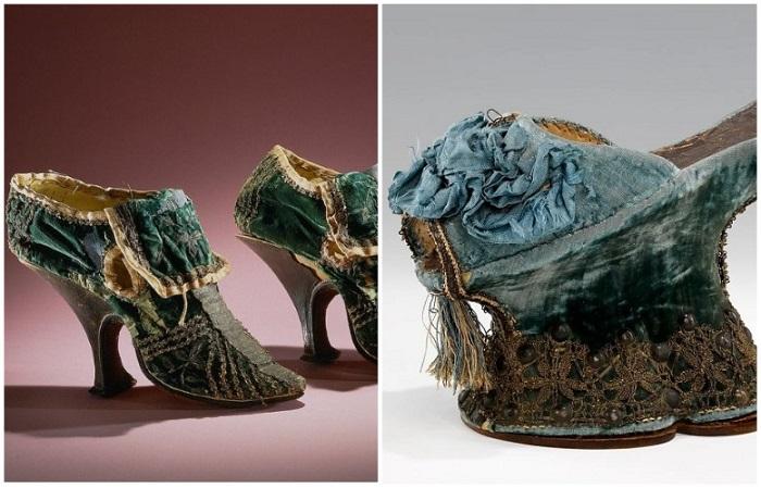 Чопины и туфли с «французским» каблуком