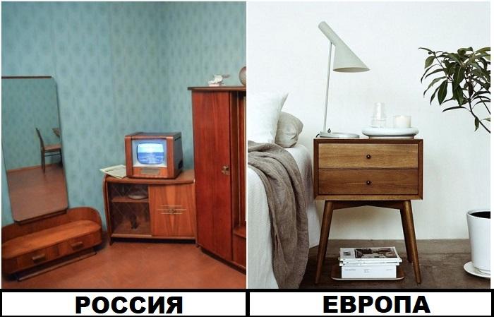 В российских интерьерах советская мебель - это основа, а не акцент