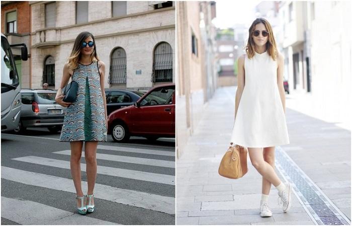 Платье А-силуэта делает утонченнее и женственнее любой тип фигуры