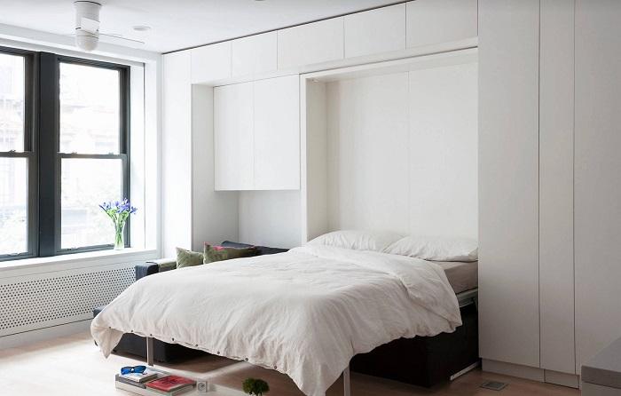 2в1: Кровать и шкаф. / Фото: dekormyhome.ru