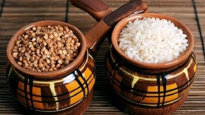 Рис и гречка - самые популярные крупы и хозяек. / Фото: sdelai-lestnicu.ru