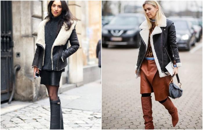Красиво смотрятся юбки классических цветов, в частности, черного и коричневого