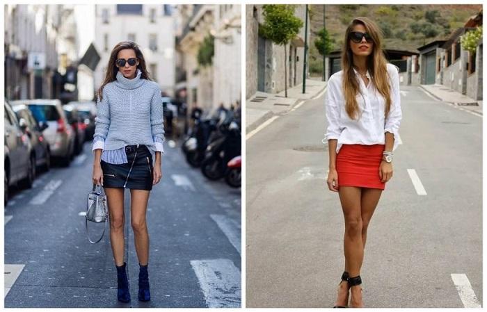 Мини-юбки в большинстве случаев выглядят вульгарно