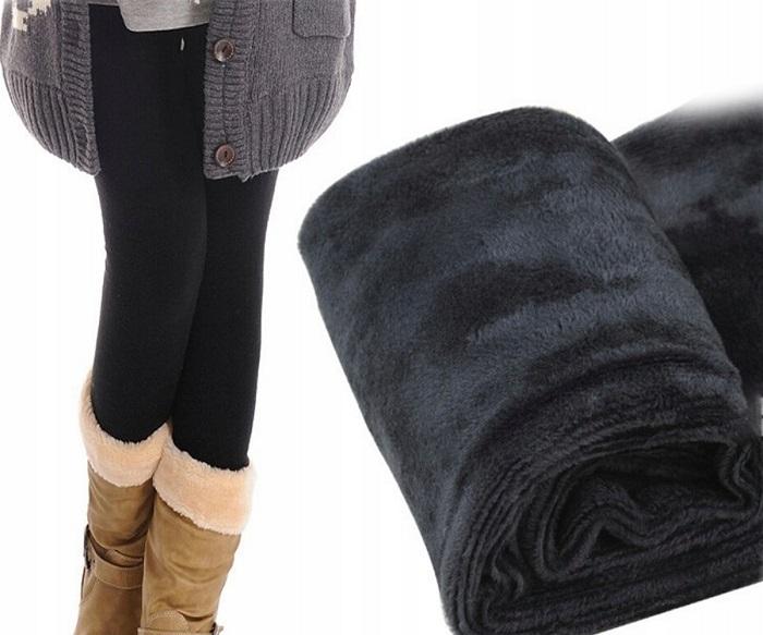 Термолеггинсы можно носить как самостоятельный предмет гардероба. / Фото: fastbox.su