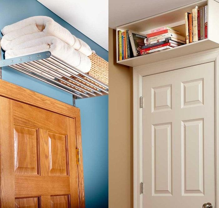 Задействуйте пространство под потолком. / Фото: pinterest.com