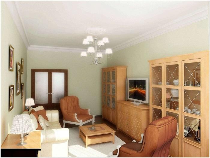 Массивная мебель занимает слишком много места. / Фото: Modernplace.ru