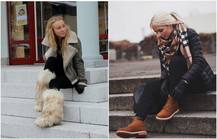 В России носят унты, а в Европе - трекинговые ботинки
