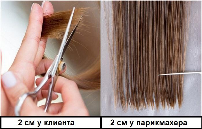 У парикмахеров и клиентов разные понимания о длине