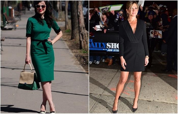 Платье-футляр и маленькое черное платье - лучшие помощники женщин 40+