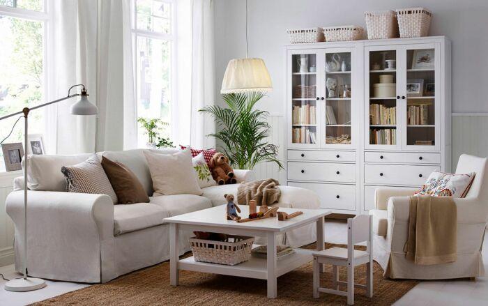 Мебель из ИКЕА популярна и узнаваема. / Фото: dekoriko.ru