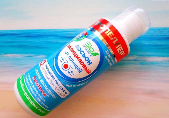 Лосьон с салициловой кислотой сушит кожу. / Фото: irecommend.ru