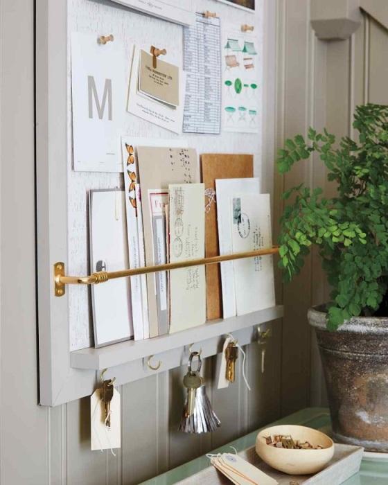 Органайзер для почти, газет или важных бумаг можно сделать самостоятельно. / Фото: Zen.yandex.ru