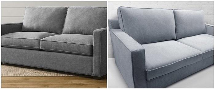Слева - оригинальный вариант, справа - реплика