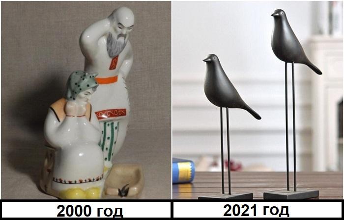 Советские статуэтки следует заменить на минималистские