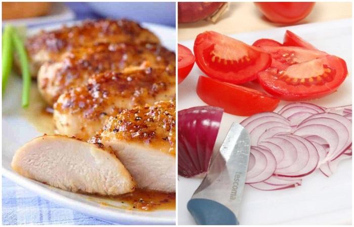 Сделать мясо нежным смогут помидоры и лук