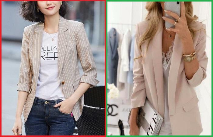 Пиджаки из плотной ткани более практичные и стильные